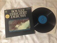LP Boulez Dirigiert Debussy CBS Deutschland M-