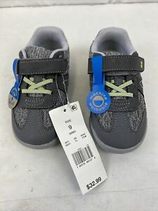 Surprise by Stride Rite Toddler Boy Nico Grey Shoes size 9