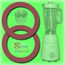 █ BRAUN MX + KM 32 31 3 🔴 2 x DICHTUNG für GLAS MIXER KÜCHENMASCHINE STANDMIXER