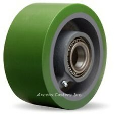 "W-630-DT-3/4 6"" x 3"" Duralast Polyurethane on Cast Iron Wheel, 2200 lbs Capacity"