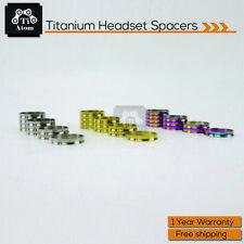 Ti Atom Titanium Concave-convex surface Headset Spacers(5-10-15-20mm)