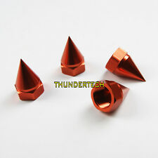Orange 4pcs enclosed wheel cap nut for Losi 5ive T Rovan LT kingmotor X2
