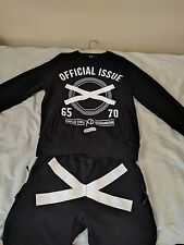 The Weeknd Official Issue XO Crewneck & Bottoms Cut & Sew 2014 (Authentic)RARE!!