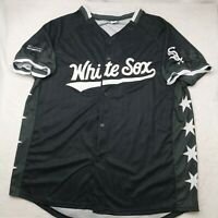 Chicago White Sox Men's XL Black Star Stadium Giveaway SGA Jersey Luis Robert