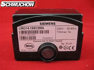 Feuerungsautomat Siemens LMO14.155C2 Ölfeuerungsautomat MAN RE 1.19 H -1.70H MHG