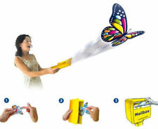 Magic Flying Wind Up Butterfly Toy For Birthday Greeting Card Wedding Prank Kids