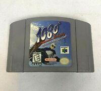 1080 Ten Eighty Snowboarding Nintendo 64 N64 Genuine Authentic Tested Working