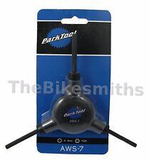 Park Tool AWS-7 Allen Hex Torx Y Wrench Three Way 4 5 mm T25 Bike Tool