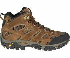 Merrell Men's Moab 2 Mid Waterproof Hiking Boots Earth Brown J06051, Choose Size