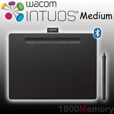 Wacom Intuos Creative Pen Tablet Bluetooth Wireless Medium Pistachio CTL-6100WL