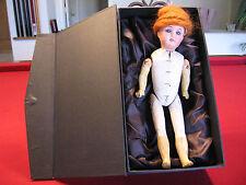 Gebruder Kuhnlenz Antique German Doll – Paper Mache Body – Wood arms & legs