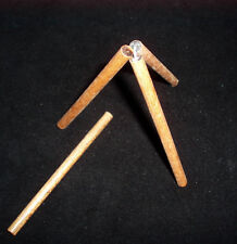 Tripod Lift Brain Teaser Puzzle - Can  you lift using only the stick provided?