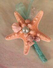 Xo Bouquet Seashell Boutonnière Star Fish