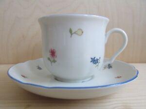 Kaffeetasse mit Untertasse Seltmann Weiden Marie Luise Streublume