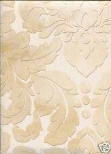 Norwall Decoración de paredes,Vinilo Beis Con Motivos Florales Papel pintado,BN