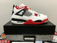 Nike Air Jordan 4 Retro Fire Red 2020 Mens Size 10.5 BRAND NEW IN BOX DEADSTOCK
