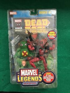 *RARE* DEADPOOL Marvel Legends Figure Series VI DOOP & Comic - Marvel - NM 2004