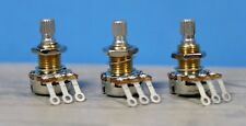 Bourns Mini Pot Potentiometer 3 PACK!! Audio Taper 250K NEW Split Shaft 250 K