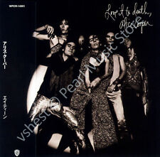 ALICE COOPER LOVE IT TO DEATH CD MINI LP OBI Vincent Furnie The Spiders rock new