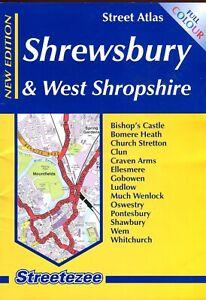 Shrewsbury & West Shropshire street atlas.