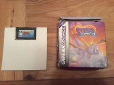 Spyro: Season of Ice (Nintendo Game Boy Advance No Booklet