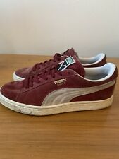 Mens Red Puma Suede Trainers/Shoes *UK Size 5*
