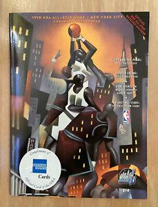 KOBE BRYANT ALL-STAR GAME DEBUT VINTAGE 1998 NBA BASKETBALL PROGRAM - TIM DUNCAN