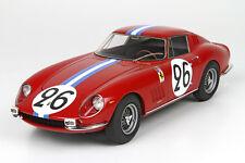 BBR BBR1825V - Ferrari 275 GTB NART  Le Mans 1966 N°26 Biscaldi 1/18