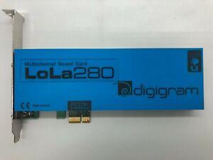 Digigram LoLa280 - Multi-Channel Sound Card (Full Height Bracket)