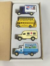GOLDEN WHEEL DIE-CAST VEHICLES Set Of 4 Trucks Pepsi