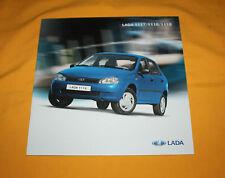 Lada 1117 1118 1119 2007 Prospekt Brochure Depliant Prospetto Catalog Folder