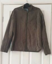 By Walid Brown Jacket Size Small