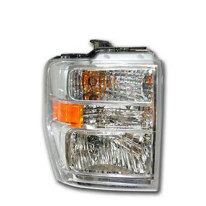 NEW OEM 2008-2012 Ford E-250 E-350 RH Chrome Headlamp Light - RIGHT Passenger's