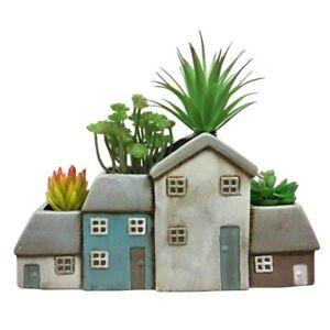 Ceramic Cottage Planter