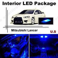 Blue LED Lights Interior Package Kit for Mitsubishi Lancer 2008 & up ( 6 Pcs )