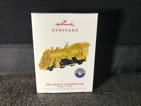 Lionel Trains 1001 Scout Locomotive Metal Ornament – Gold