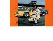 AUTOGRAPHED IN PEN Dale Earnhardt Sr Large Format Post Card #15 Wrangler Daytona