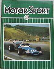 Motor Sport magazine November 1969