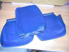 Volvo 240 245 Front OEM Seat Upholstery Cloth Cover - Blue Cloth