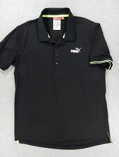 Puma VOLVO ROUND THE WORLD Ocean Race Short Sleeve Polo Shirt (Mens Medium)