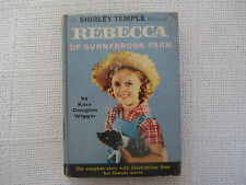 Rebecca Of Sunnybrook Farm Kate Douglas Wiggin Random House hardcover VG+