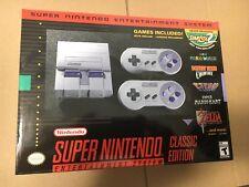 SUPER Nintendo Entertainment System SNES Classic Edition Mini Console BRAND NEW