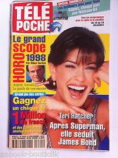 b)Télé poche 13/12/1997; Teri Hatcher/ S. Stone/ Hunter Tylo/ Alliage/ Banderas