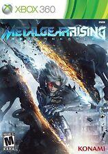 Metal Gear Rising: Revengeance (XBOX 360, Konami) - Brand New/Factory Sealed