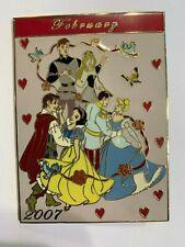 Princess February Calendar Jumbo Disney Pin Le 500 2007