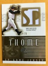 2002 SP Jim Thome Game Jersey Gold 18/25