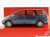 Herpa 031820 Ford Galaxy I (1995-2000) in blaumetallic 1:87/H0 NEU/OVP