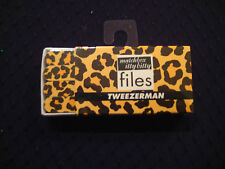 Tweezerman Matchbox Itty Bitty Files - Leopard/Jaguar Print #V4