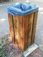 Holz - Mülleimer
