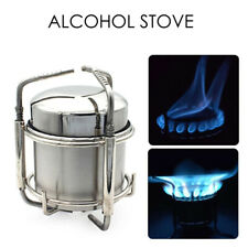 Outdoor Camping Alcohol Stainless Steel Folding Utensil Stove Pot Bowl'